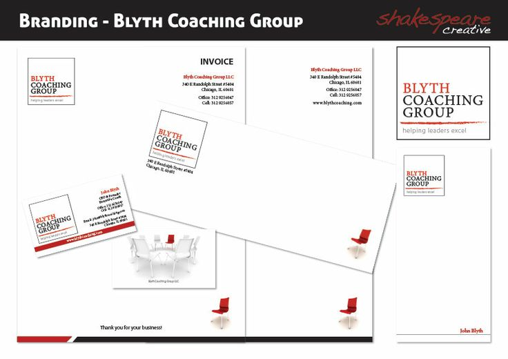 Branding and Stationary design for Blyth Coaching Group.