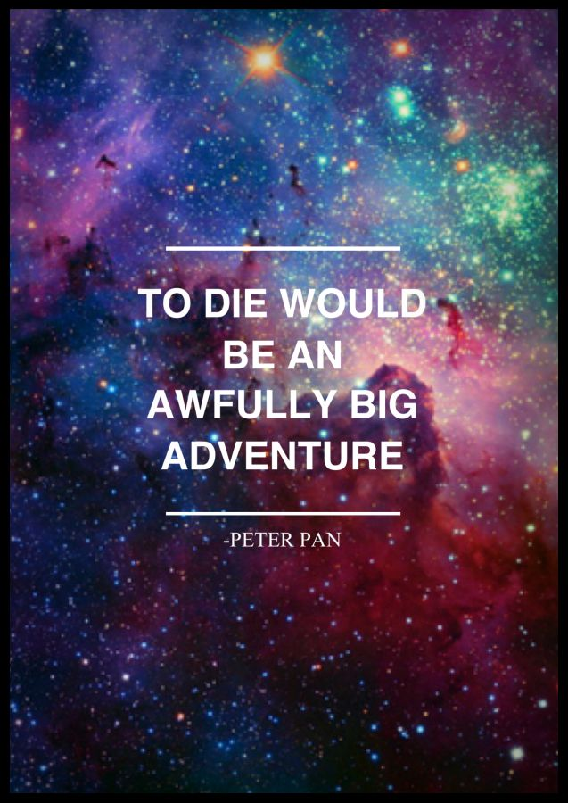Until Dawn Iphone Wallpaper To Die Would Be An Awfully Big Adventure Peter Pan