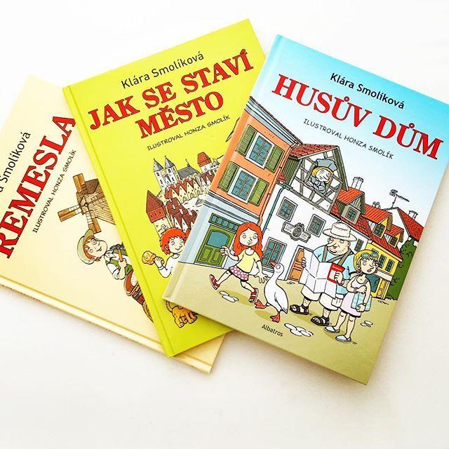 """""""Chytré knihy"""" pro děti od Kláry  Smolíkové #knihyprodeti #detskakniha #ctemedetem #klarasmolikova #albatros"""