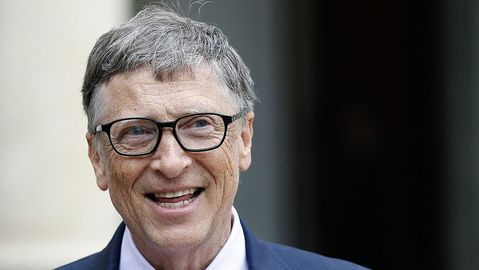 How does Bill Gates spend his money?