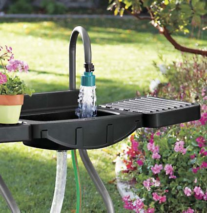 Outdoor Laundry Sink : Outdoor Utility Sink - Portable Outdoor Sink Solutions