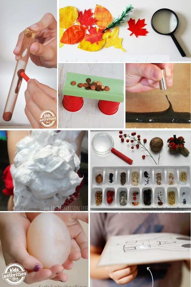 science activities for elementary aged kids