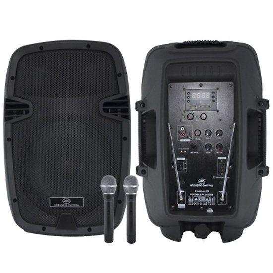 Combo-10 Enceinte Mobile Amplifiée 400W Kool-Sound