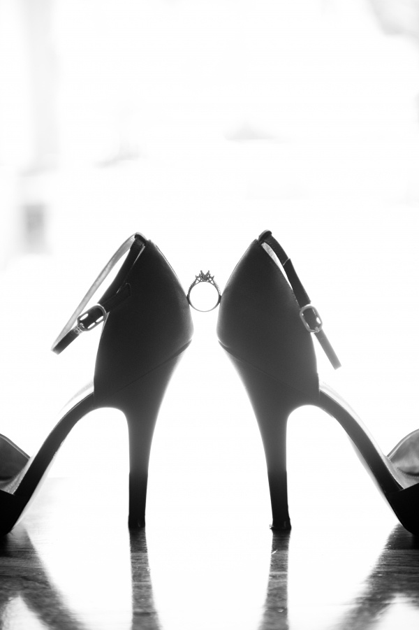 Shoes/ring! One of my very favorite shots to get