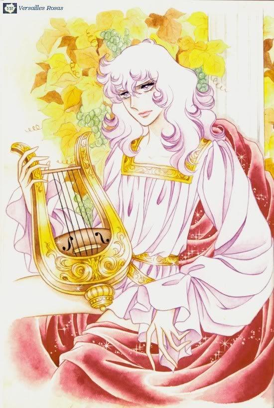 "From ""la Rose de Versaille""s. Original art work by Ms. Ikeda Riyoko."