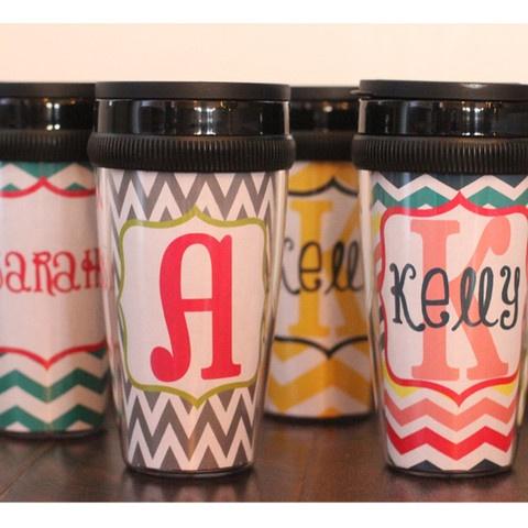 Personalized Coffee Traveling Mugs