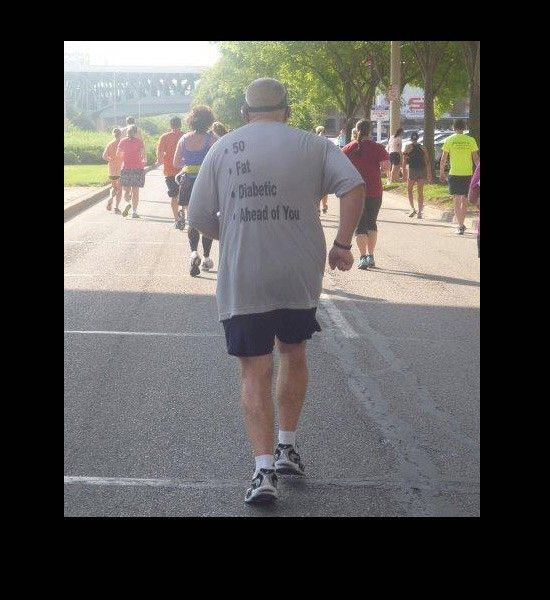 old man jogging shirt ahead of you diabetic   Fitness ...