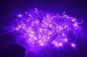 Samgu 2 mètres 20Leds Violet LED Guirlande led lampe ampoule éclairage étanche pour jardin décoration extérieur intérieure lumineuse idéal…
