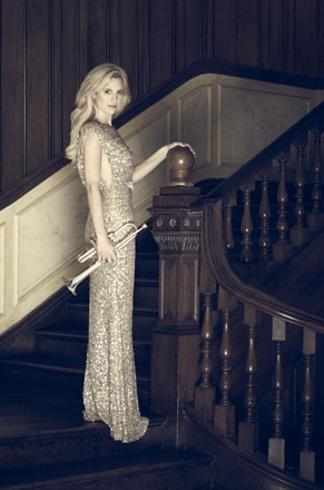 Classical superstar Alison Balsom (she's local too - and we love her dress!) to perform at Trinity College Chapel