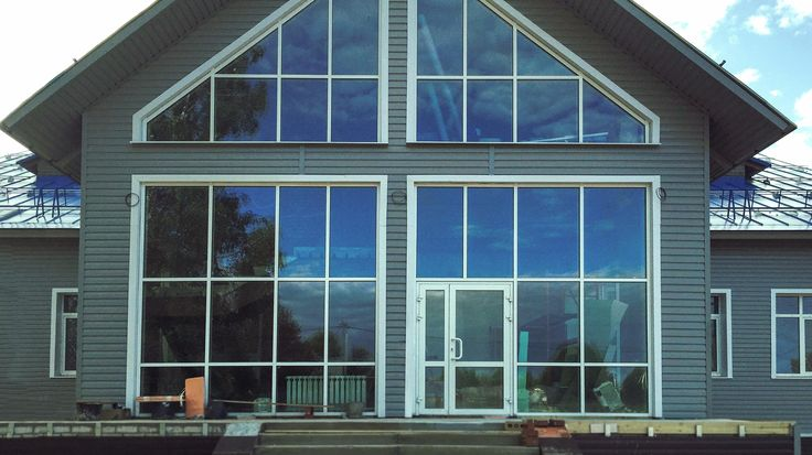 Светопрозрачные конструкции, вентилируемые фасады
