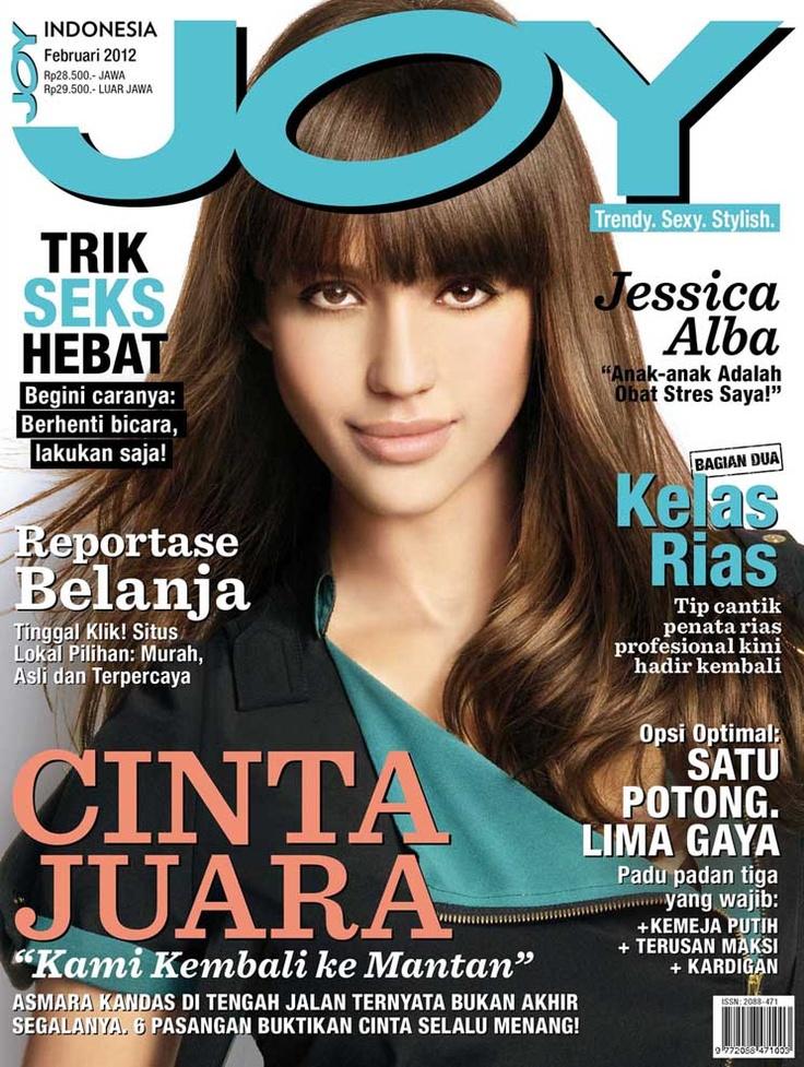 JOY Indonesia February 2012 issue.  #JessicaAlba