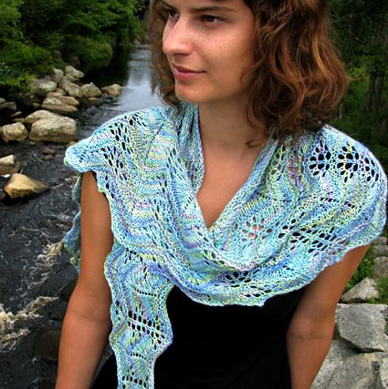 I've been looking for a project for a single skein