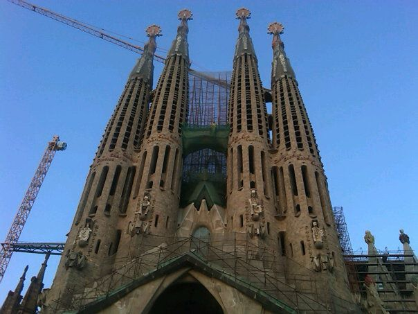 Sagrada Familia in Barcelona,
