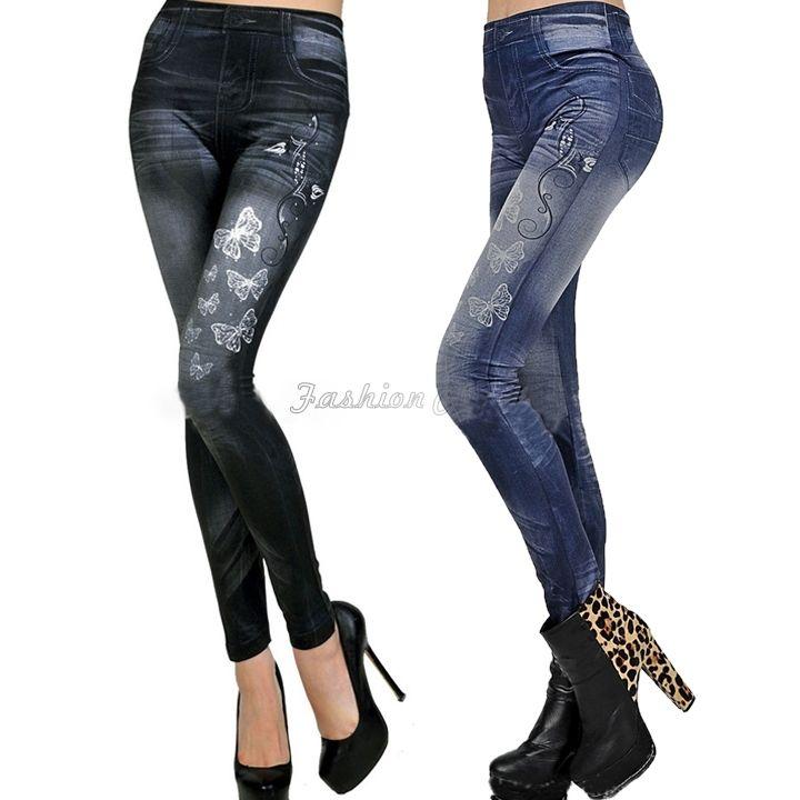 джинсы женские 2015 сексуальные татуировки джинсы женщина смотри спорта панк фитнес американский продажа одежды джинсы свободного покроя карандаш тощие женщины джинсы брюки FC94