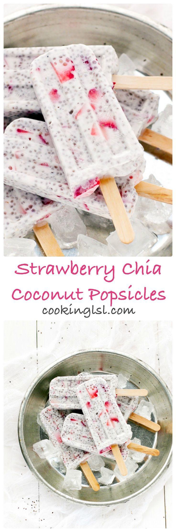 Strawberry-Chia-Coconut-Popsicles-recipe                                                                                                                                                      Más