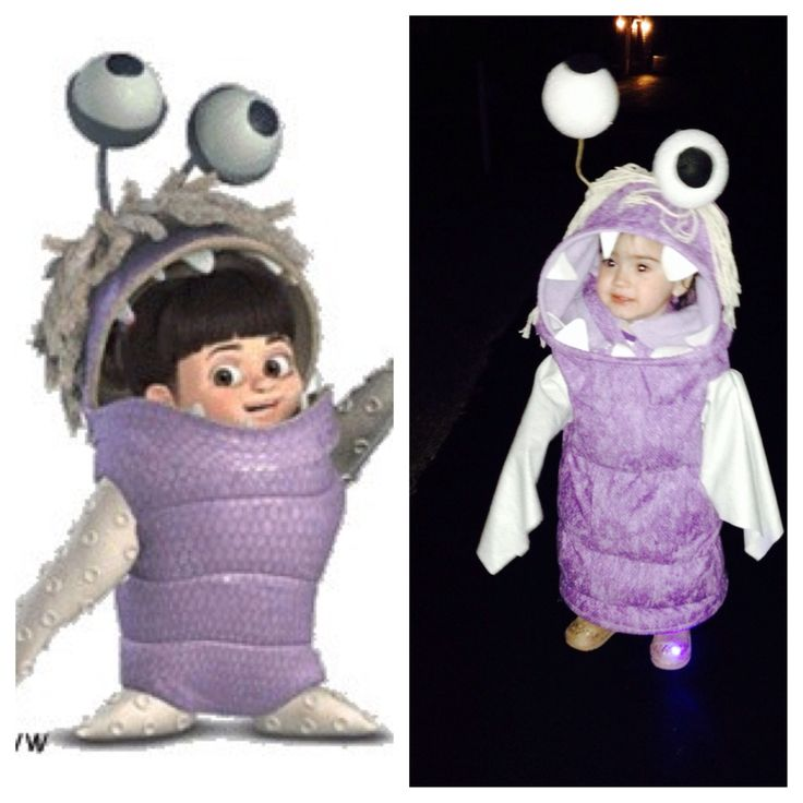 Baby Monster Halloween Costume