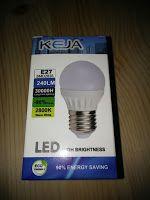 Produkttests und mehr: LED FACTORY 3W E27 G45 LED Lampe, Ersatz für 30W G...