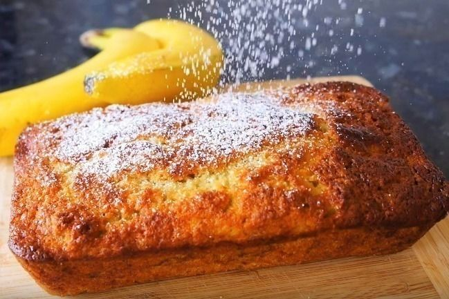 This is an easy recipe that gives perfect results every time. Be sure to use overripe bananas and the right sized tin. This banana bread recipe is the perfect way to make the most of the bananas that have started to go brown in the fruit bowl. Ripe bananas give the dense loaf a lovely moist texture with a subtle hint of flavour. The thick dough takes a little longer than your average cake to bake, but it's worth the wait. A slice of this flavour-packed cake is a perfect treat for breakfas...