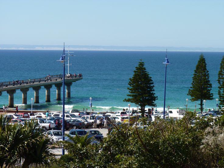 Beautiful beach in Port Elizabeth South Africa