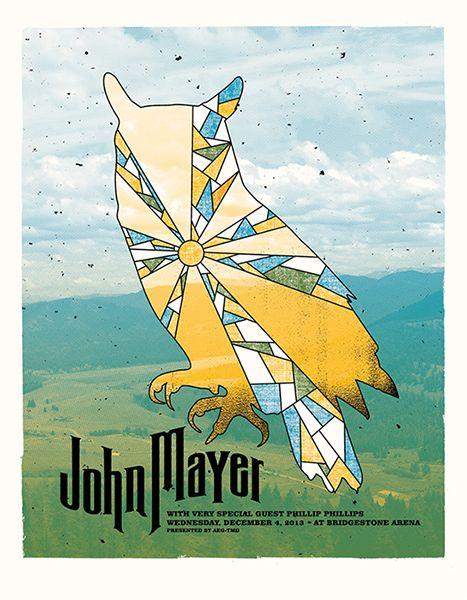 GigPosters.com - John Mayer - Phillip Phillips