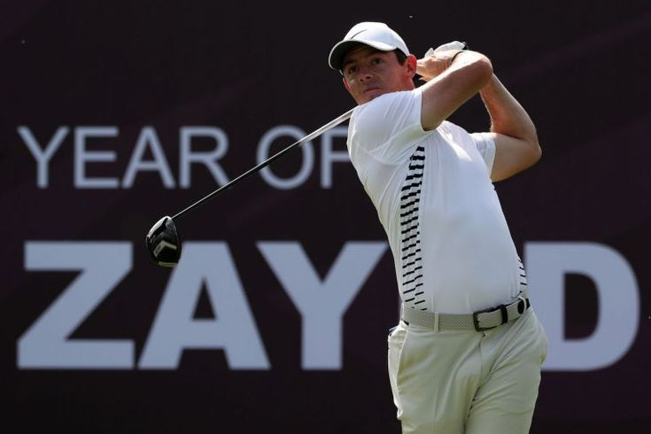 awesome Golf: Rory McIlroy storms into halfway lead in Dubai, Golf News & Top Stories