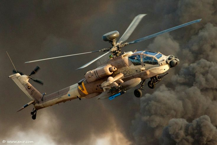 "Boeing AH-64D ""Saraf"" {Serpent} (""Apache Longbow""- Israel Air Force)"
