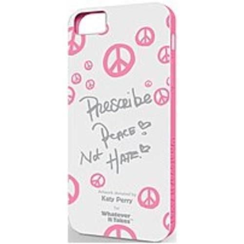 NOB Symtek Whatever It Takes WUS-IP5-GKP01 Premium Gel Shell for Apple iPhone 5 - Katy Perry White