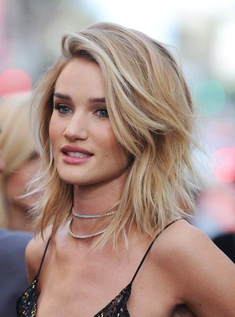 Wavy Choppy Hairstyles : The lob on haircut long and haircuts
