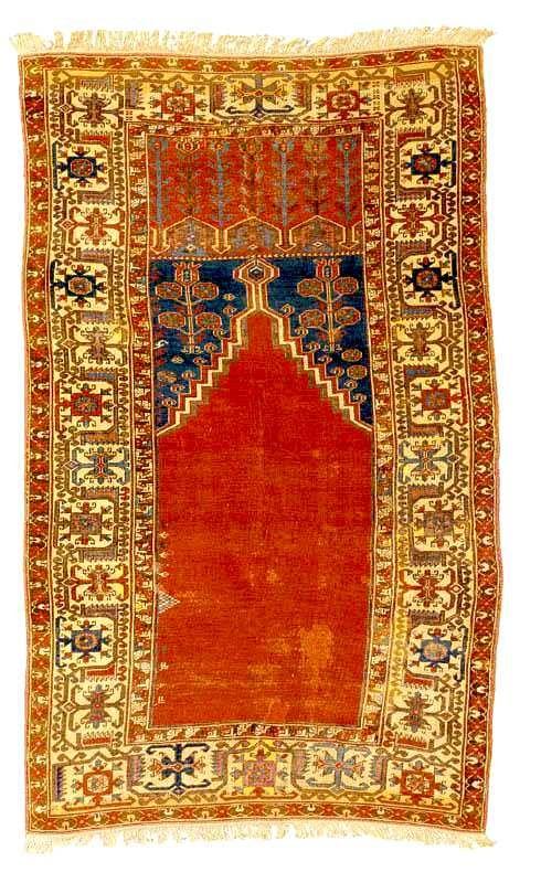 Antique Innice Ladik Prayer Rug 18th Century Sotheby S Lot 2