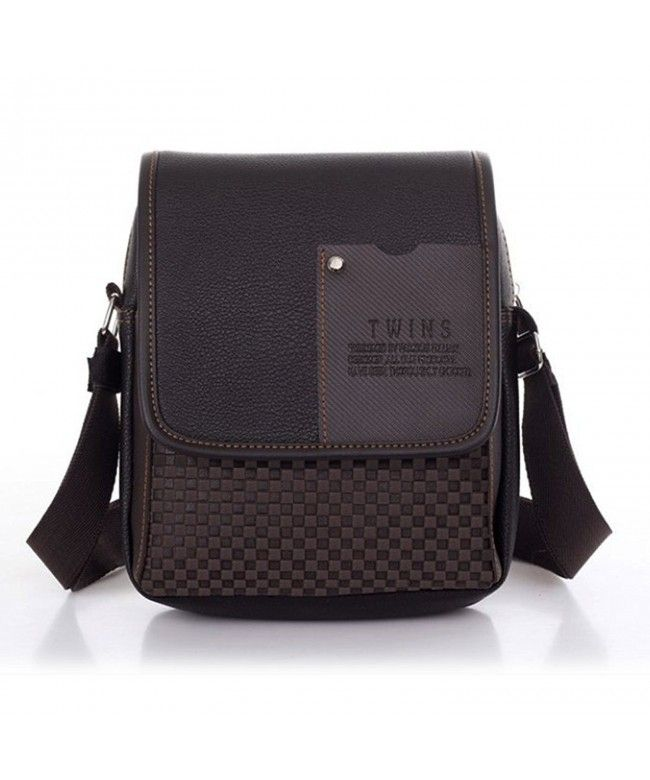 Casual Men Shoulder Bag Male Business One Shoulder Cross-body Bag - Brown -  CJ12O6QYT4N  Bags  handbags  gifts  Style  Shoulder Bags f79685d0e7648