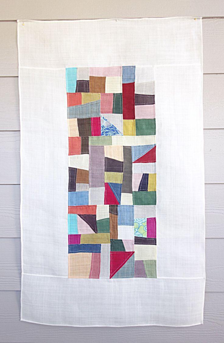 pojagi, bojagi, jogakbo,korean patchwork, wall hanging, handmade,frame art, wrapping cloth by Laughingneedle on Etsy https://www.etsy.com/listing/479627963/pojagi-bojagi-jogakbokorean-patchwork