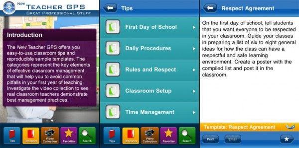 gestión de las clases
