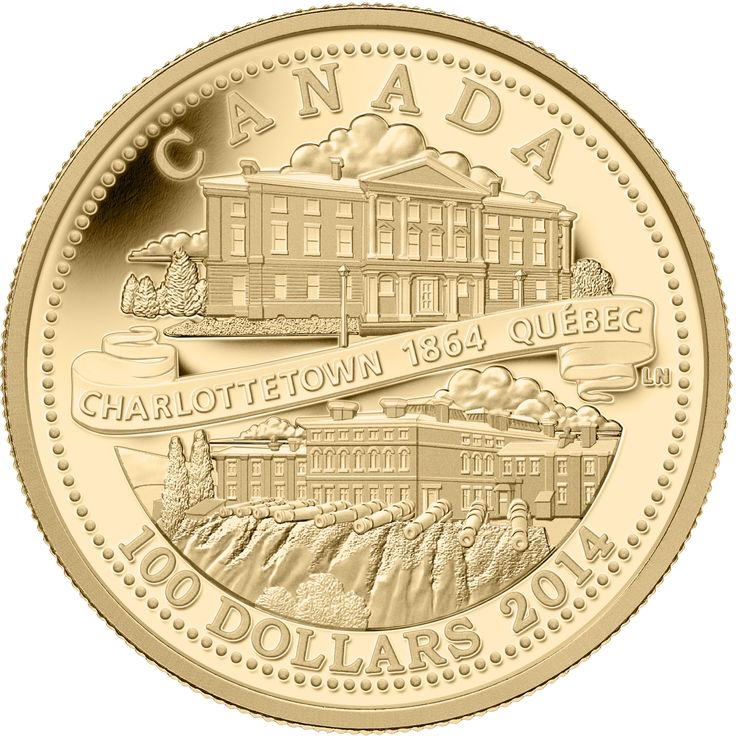 14-Karat Gold Coin - 150th Anniversary of the Québec and Charlottetown Conferences
