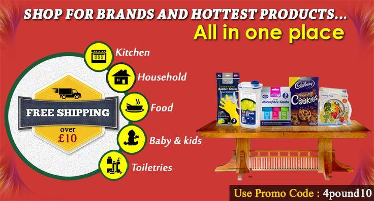 Shop all your needs at one place #4pound Shop Now : http://www.4pound.co.uk/ Get Discount on all your Orders. Free shipping over £10.