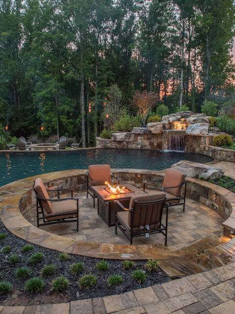 Custom Swimming Pool Builders And Designers Inground Pool With