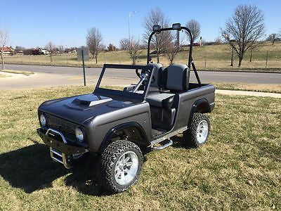 BRONCO -Custom Golf Cart BODY KIT fits Club Car DS or Yamaha