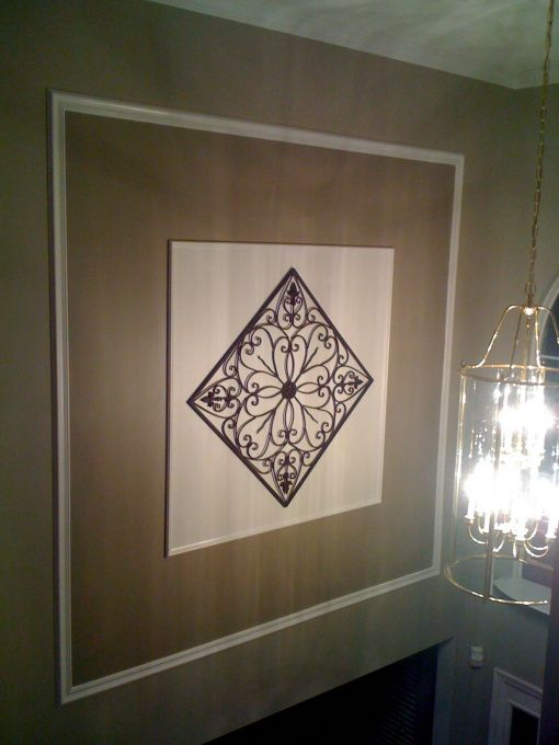 Image detail for -Foyer Wall, Two story foyer wall, Added this to my two story foyer to ...