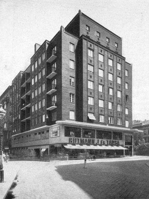 1937. Rákoczy út 12. Holitscher ház