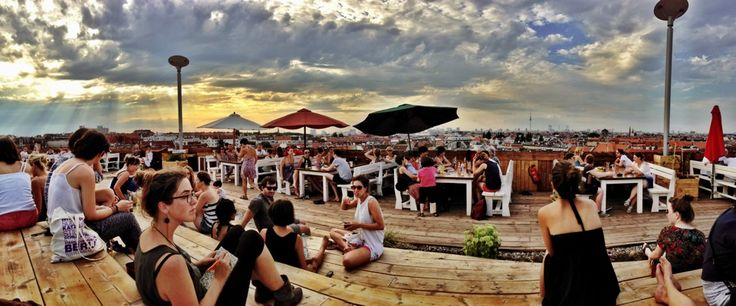 Klunkerkranich, Club & Bar on a rooftop with a great view #Berlin https://www.facebook.com/derklunkerkranich
