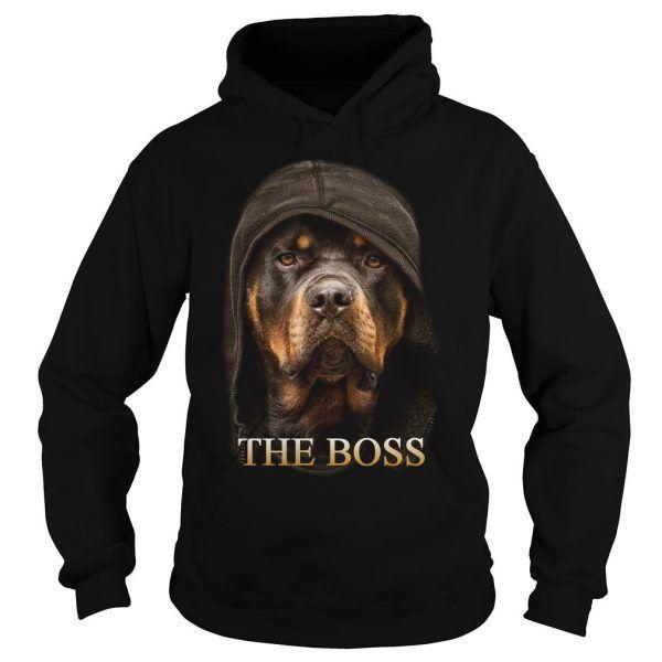 Rottweiler The Boss Hoodies