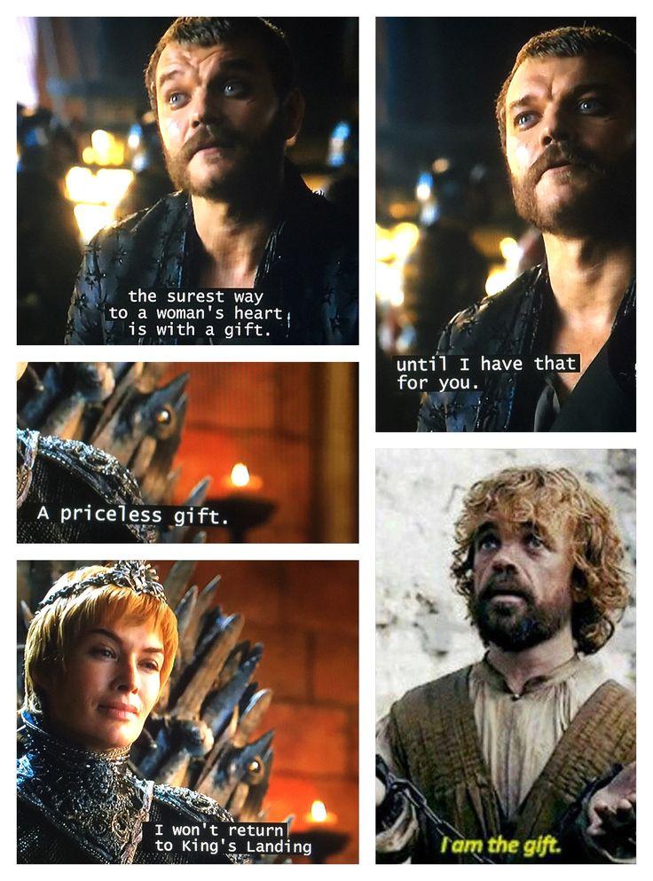 "Tyrion is priceless  - Game of Thrones (""Dragonstone"" season 7)"