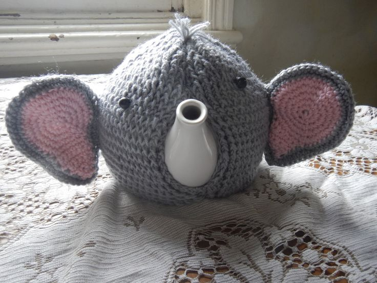 Elephant Tea Cosy by WinterSunflower45 on Etsy