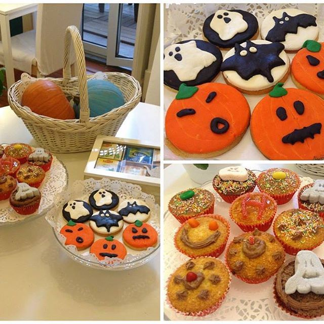 """We believe that """"happiness is homemade""""! This weekend our guests tried some homemade Halloween treats :) #lisbondreamsguesthouse"""