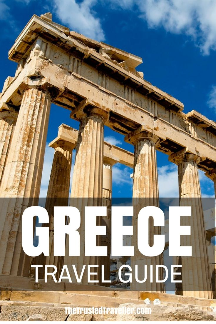 My Greece Travel Guide has everything you need to start planning your trip. Click through now to start planning! - The Trusted Traveller