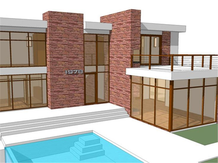 Our home plans have clean lines geometrical design and