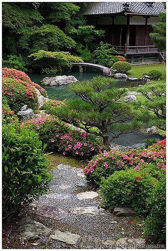 Shoren-in temple's zen garden, Kyoto | Flickr – Ph…