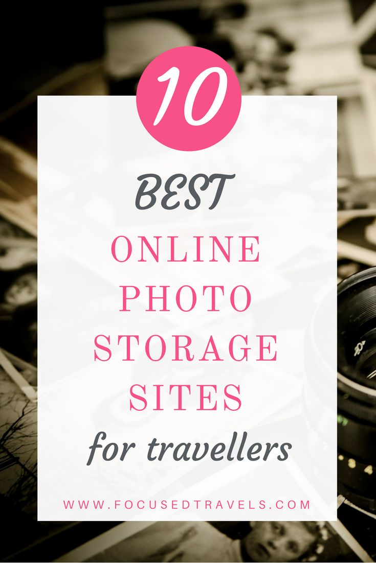 The 10 best online photo storage sites for travelers