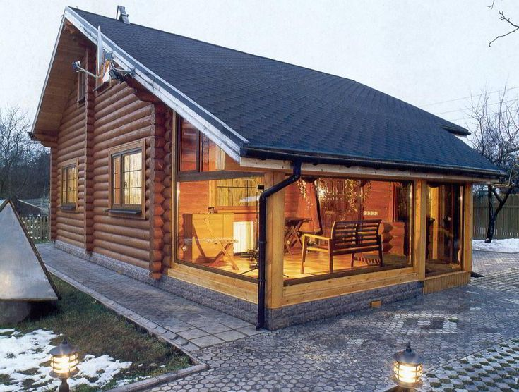 Традиционные дома и бани из клееного бруса Сочи