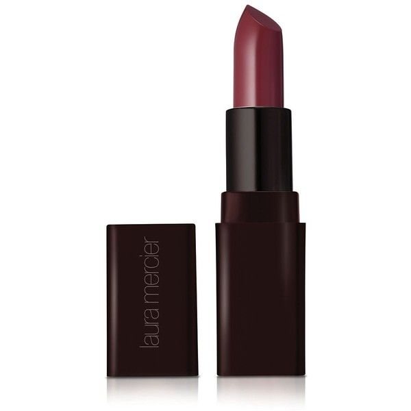 Laura Mercier Creme Smooth Lip Colour ($27) ❤ liked on Polyvore featuring beauty products, makeup, lip makeup, lipstick, merlot, moisturizing lipstick, laura mercier e laura mercier lipstick
