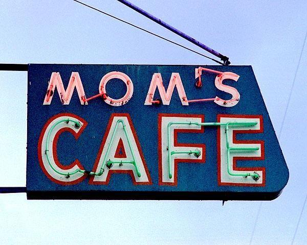 Photograph of Mom's Cafe, Salina, Utah